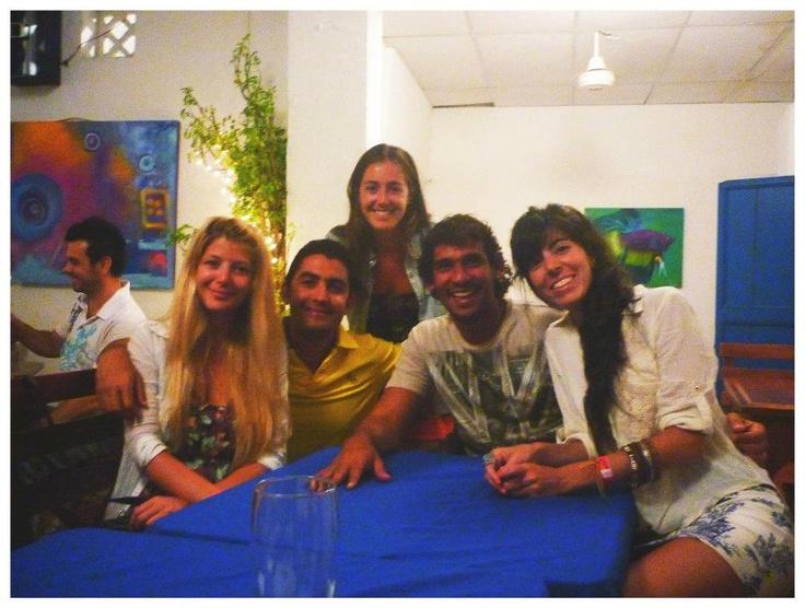 @ Trattoria Di Silvio. With: Sol (Argentina), Paz (Argentina), Juanrro (local) and Micca (Argentina)
