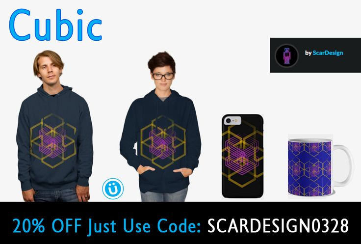 "20% OFF EVERYTHING!!! Use code: SCARDESIGN0328  ""Cubic "" Gifts by Scar Design #geometric #hoody #tshirt #geometrictshirt #hoodie #ziphoodie #geometriczipsweatshirt #sweatshirt #cooltshirts #buygeometrictshirt #cubic #scardesign #iPhonecase #onlineshopping #gifts #geometricgifts #giftsforhim #giftsforher #designbyhumans #geometryofcosmos #cosmos #sacredgeometry"