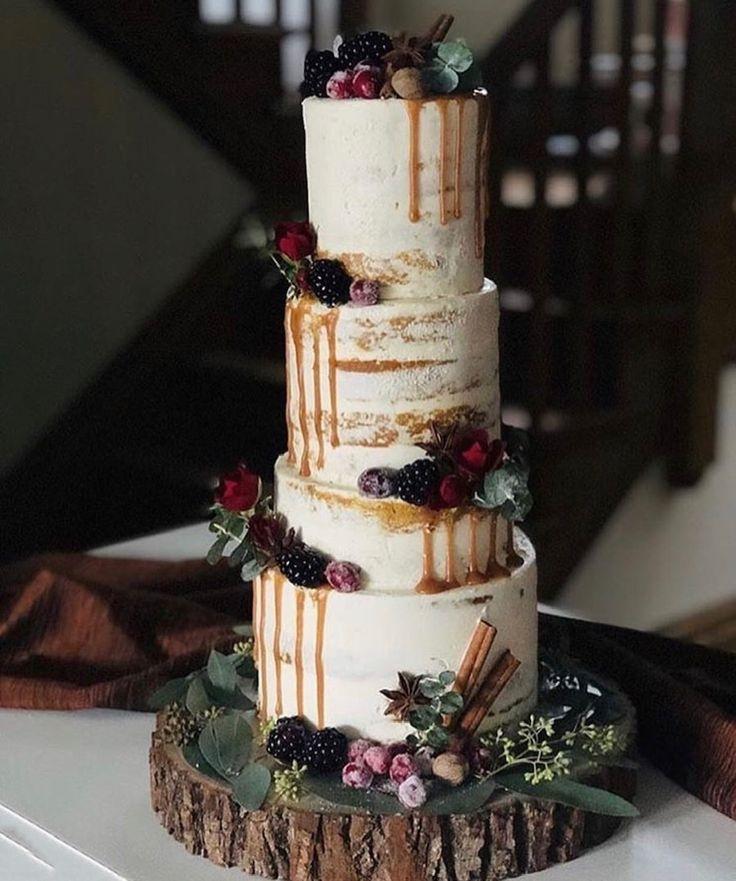 February cake decorator spotlight fall wedding cakes