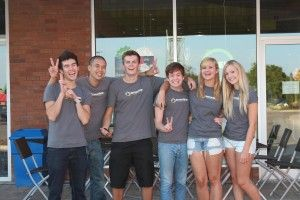 Get to know your neighbours http://oakvilleshops.com/2013/08/23/business-of-the-week-lemondrop-frozen-yogurt/