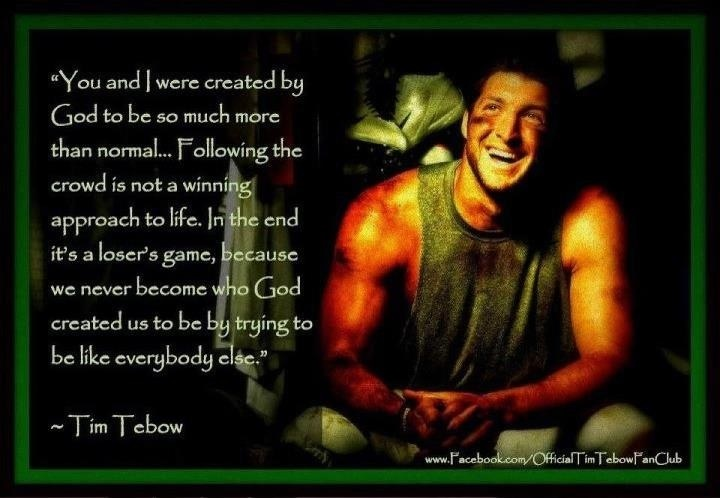 Tim Tebow Inspirational Quotes: 25+ Best Tim Tebow Quotes On Pinterest