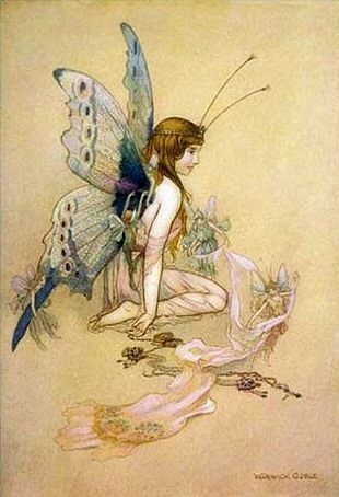 Fairies, Large and Small by Warwick Goble