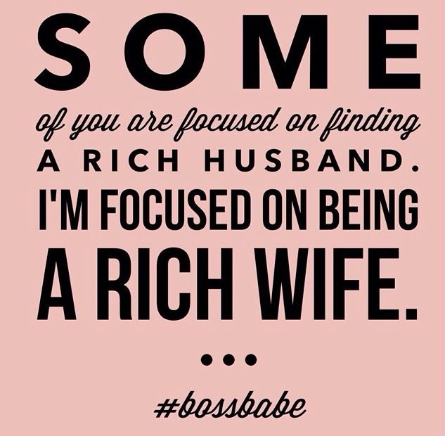 A financially fit wifey is who I am!✅