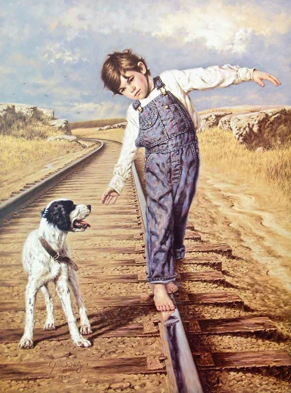 Walking The Rails by Jim Daly