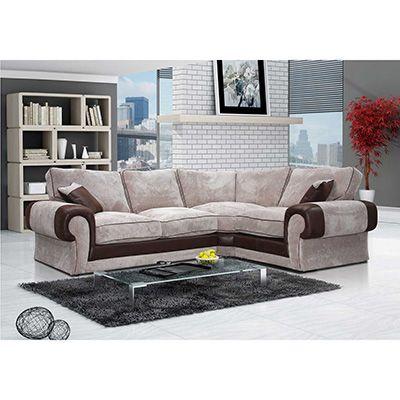 Tango 1C2 Corner Sofa Brown/Mocca