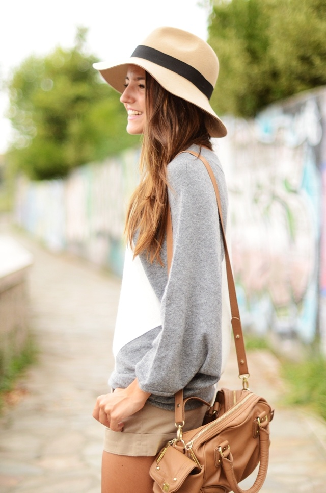 : Sweaters And Shorts, Style, Spring Summer, Odd Couple, Travel Outfit, Summer Night, Summer Shorts, Sun Hats, Khakis Shorts
