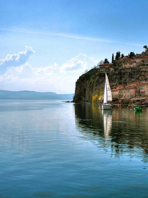 Lake Ohrid,Macedonia