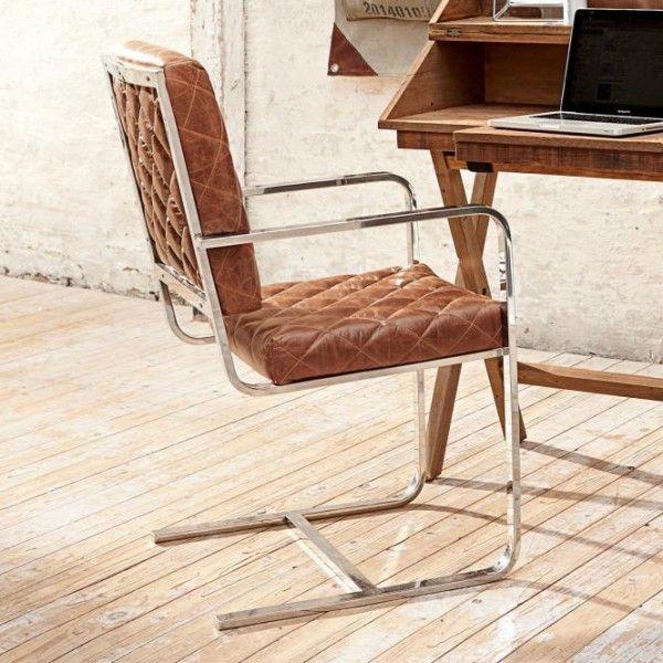 Freischwinger Stuhl online bestellen auf:  http://www.moebel-liebe.com/shop/stuhl-elbert/