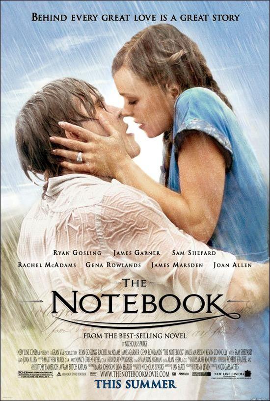 ¿Quién no ha visto El Diario de Noa? Pues hasta hace un par de meses, yo, y la verdad es que no sabía lo que me perdía. Es una historia preciosa sobre el amor verdadero. Me encantó, os la recomiendo.