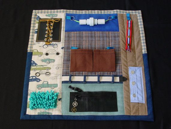 Busy Man Fidget Quilt Tactile Fun And Hand Activities