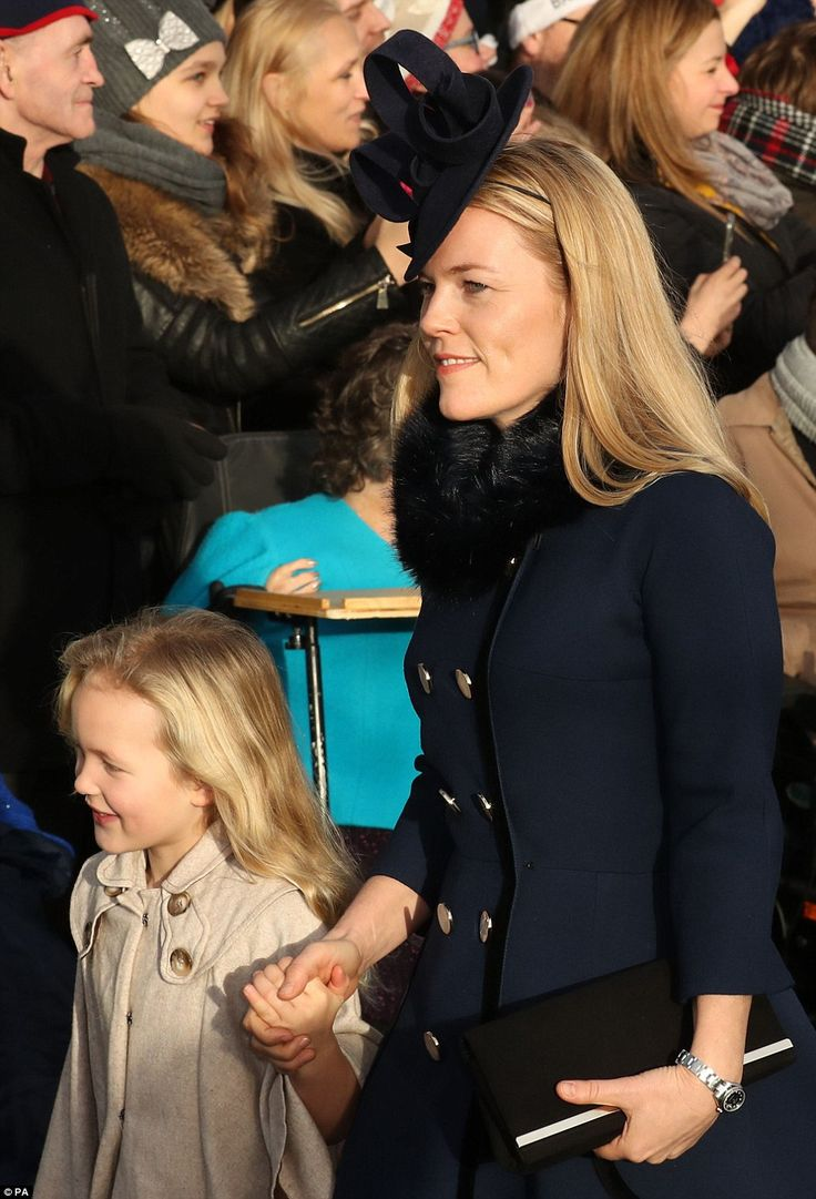 dailymail:  Christmas Morning Service, St Mary Magdalene Church, December 25, 2016-Savannah and Autumn Phillips; both Savannah, who turns 6 this month, and younger sister Isla, made their first appearances at the Christmas service