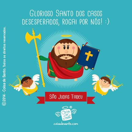 São Judas Tadeu, o santo das causas impossíveis! #coisadesanto #cristianismo #catolicismo #frases #versiculos #santinhos