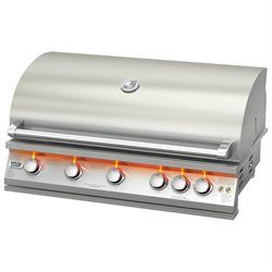 40-Inch Built-In LP Gas Grill - BroilChef Natural Gas Grills