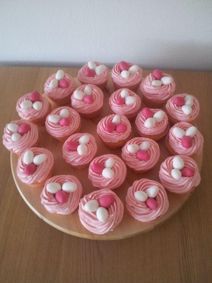 Cupcakes pasen 2013
