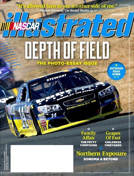 NASCAR Illustrated Magazine August 2016 Photo Essay Issue The Petty Compound NEW
