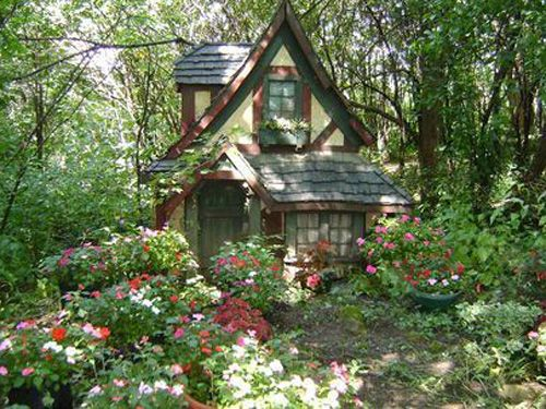 The gallery for fairytale cottage in the woods for Witches cottage house plans