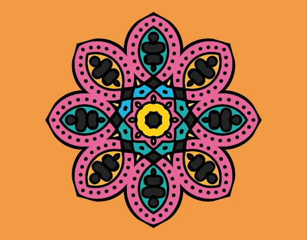 Mandala arabe