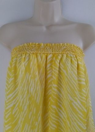 Buy my item on #vinted http://www.vinted.com/womens-clothing/tube-tops/20687833-sofia-by-sofia-vergara-womens-sunny-yellow-smocked-tube-top
