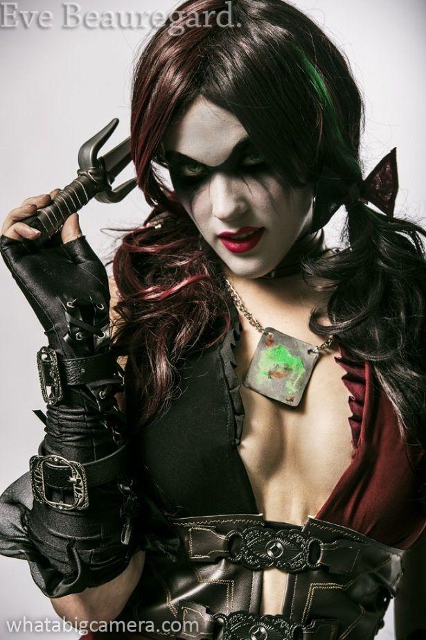 eve beauregard cosplay | Cosplay – Eve Beauregard como Hera Venenosa & Harley Quinn