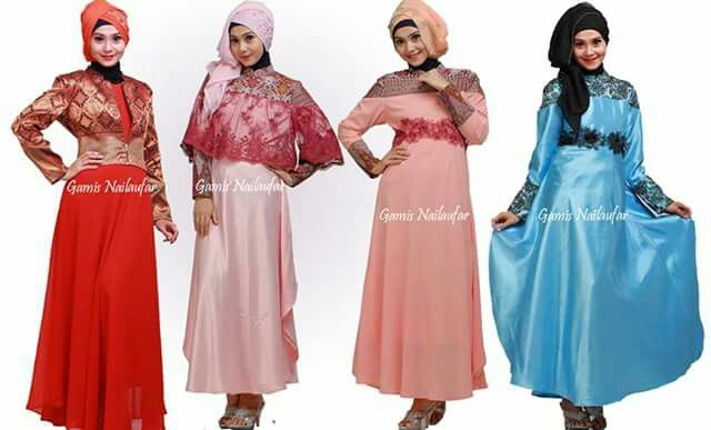Songket longdress for muslimah