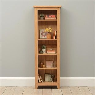 Tall Slim Bookcase image