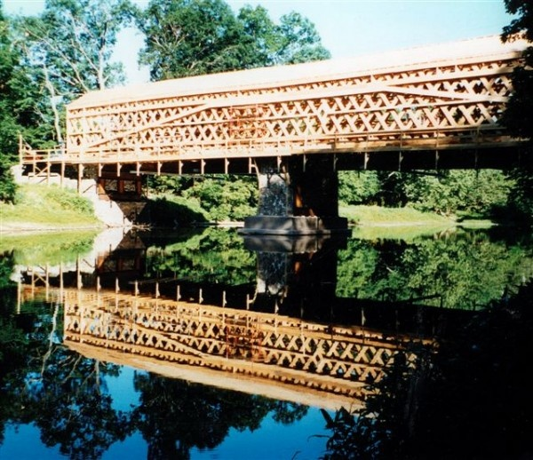 17 best images about woodhouse timber frame for Timber frame bridge