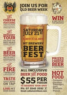 Mount Tamborine Beer Fest - don't miss out!
