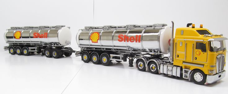 Kenworth K200 Prime Mover with Tanker Trailers - SHELL