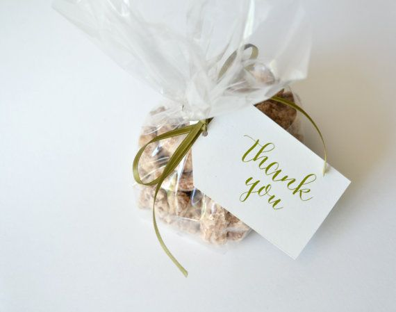 Thank You Tags on Etsy - 12 for $8 - Liddabits #favortags #favors #thanks #bridesmaidgifts #weddingpartygifts