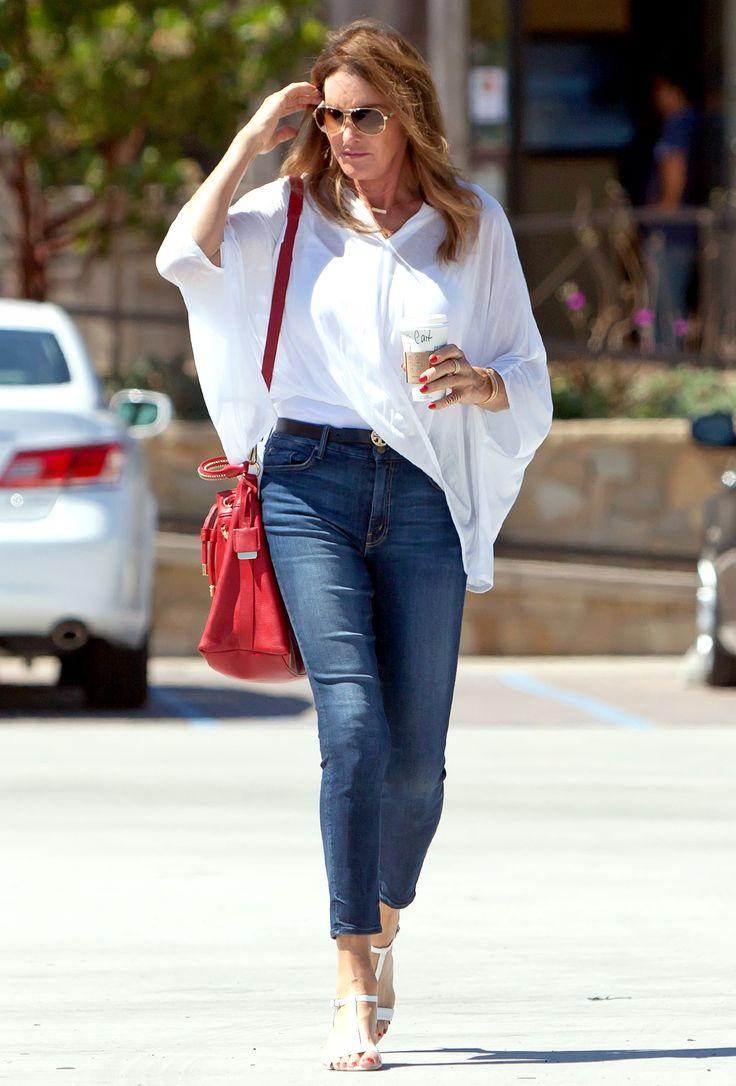 Caitlyn Jenner's Legs Look Unbelievably Long in Tight Jeans, Heels