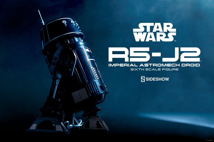Sideshow Star Wars R5-J2 Imperial Astromech Droid 1/6 Scale Figure