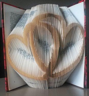 Boekkunst 3 - Waar naartoe vouwen van knutselidee.nl
