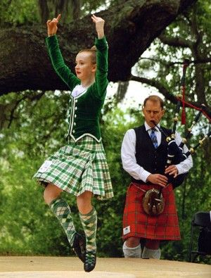 Kilt with green jacket #Milne #Green #Tartan