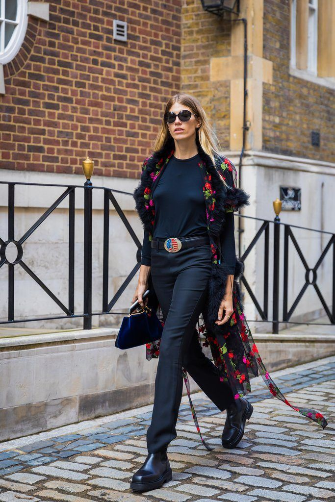 London Fashion Week S/S 2018 Street Style – FaShionFReaks