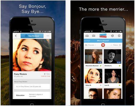 BonjourBonjour, red social móvil para conocer nuevos amigos y qué sucede a tu alrededor