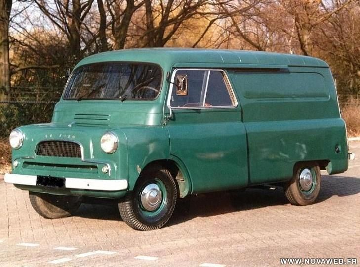 Bedford - Type CA 1964 - similar to my fathers in 1967
