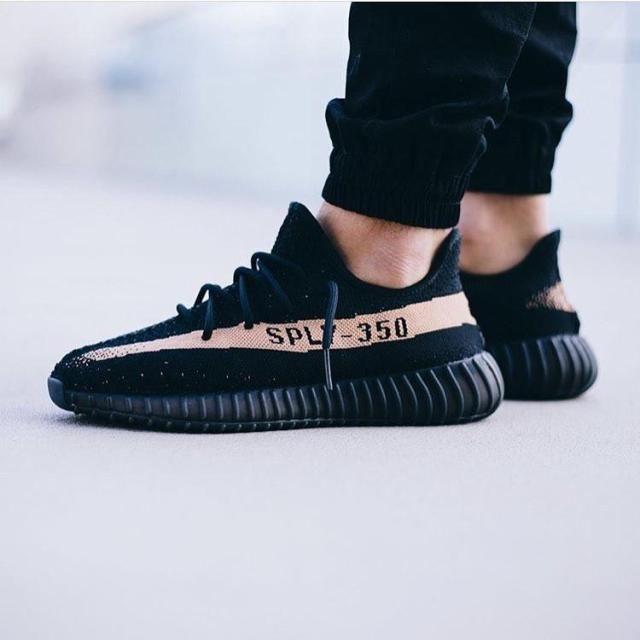 adidas yeezy boost 350 v2 black cooper en 2020 | Chaussures