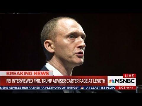 MSNBC CHRIS MATTHEWS 6/26/17 - FBI Interviewed Carter Page at length