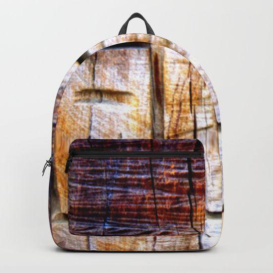 Wood Engraving Backpacks
