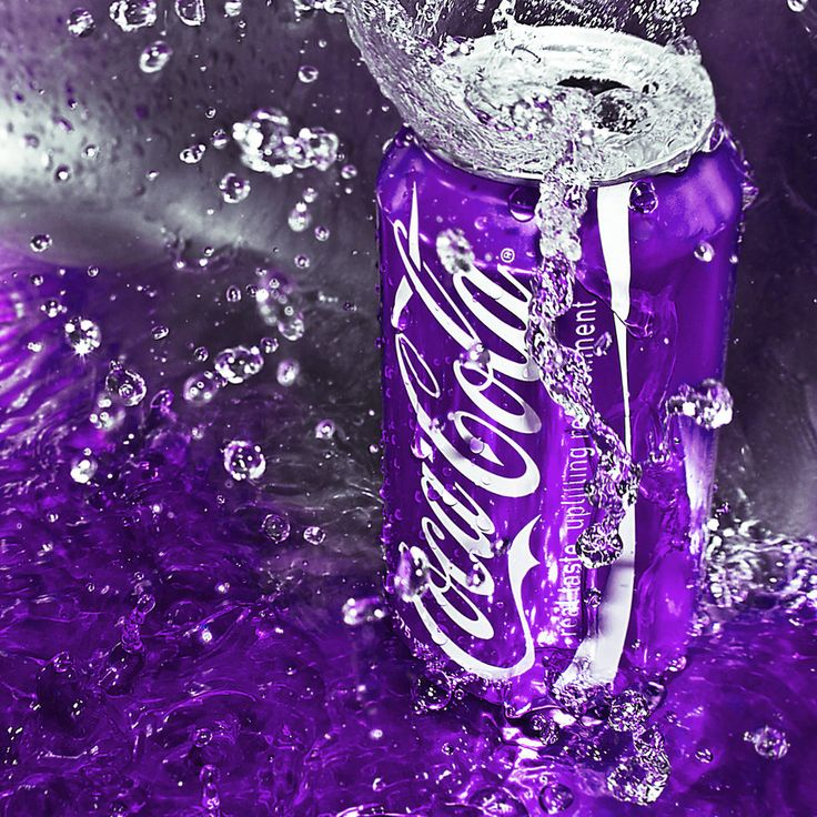 Coca Cola in the Purple by Sapho Photographics on deviantART