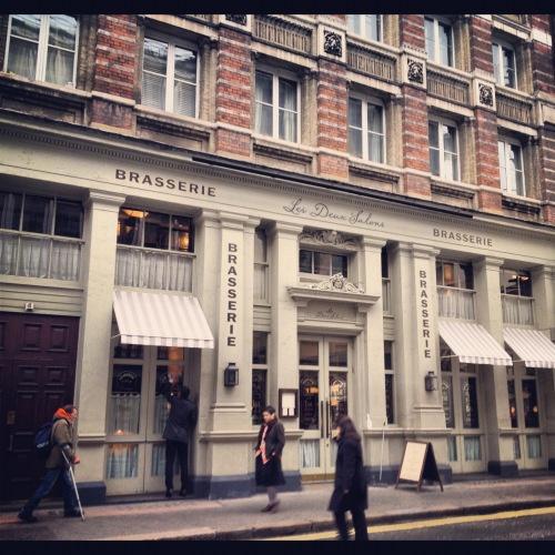 Covent Garden's Les Deux Salons