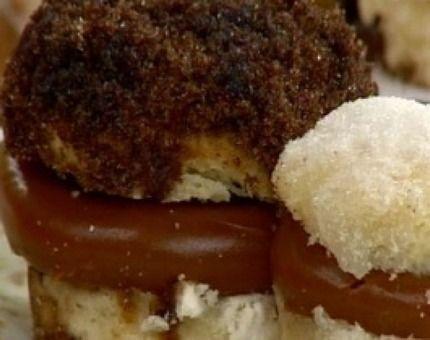 Deliciosas tortitas negras y blancas para el mate