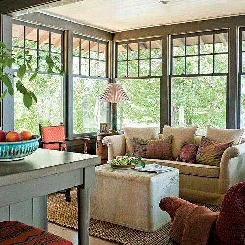 25 best ideas about sunroom windows on pinterest for Kitchen morning room designs
