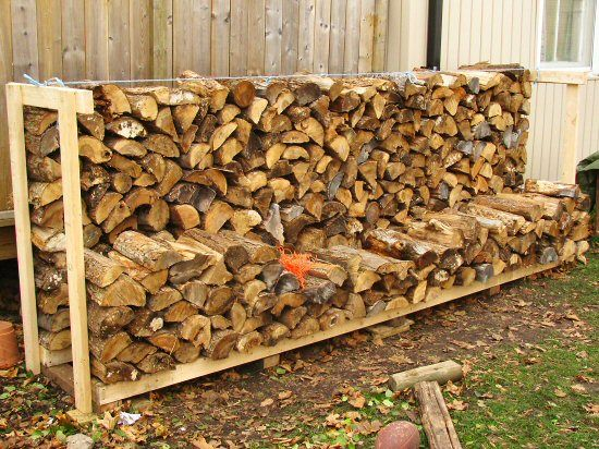 proper firewood stacking 2