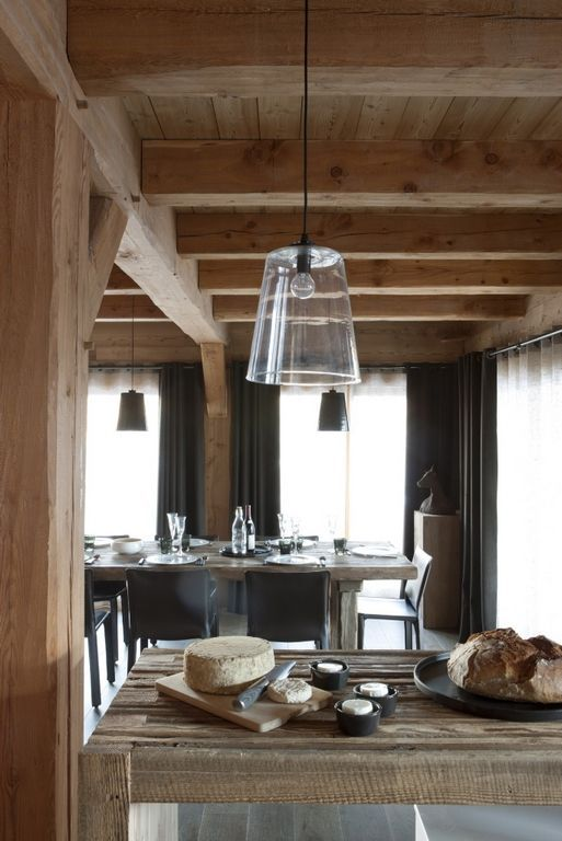 25 best ideas about chalet style on pinterest fur decor rustic kids room - Decoration style chalet ...