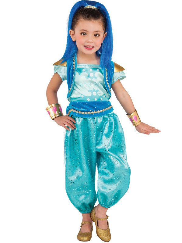 Check out Shimmer and Shine Toddler Deluxe Shine Costume - Cartoon Characters Costumes for Babies, Infants & Toddlers from Costume Discounters