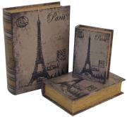 set/3 book boxes