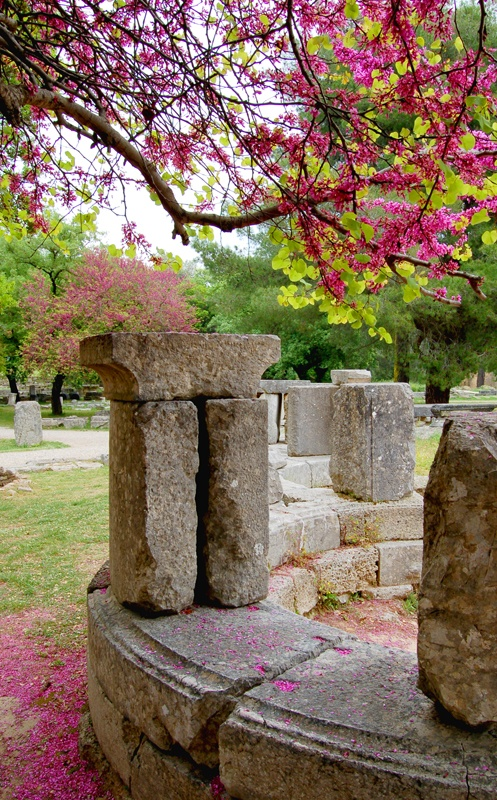 Ancient Olympia, Greece in spring http://blog.keytours.gr/2013/05/olympia-unique-experience-at-affordable.html
