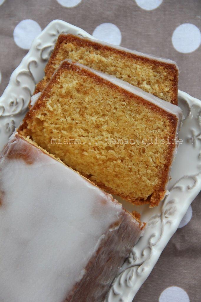 Cake très très citron, d'après Christophe Felder