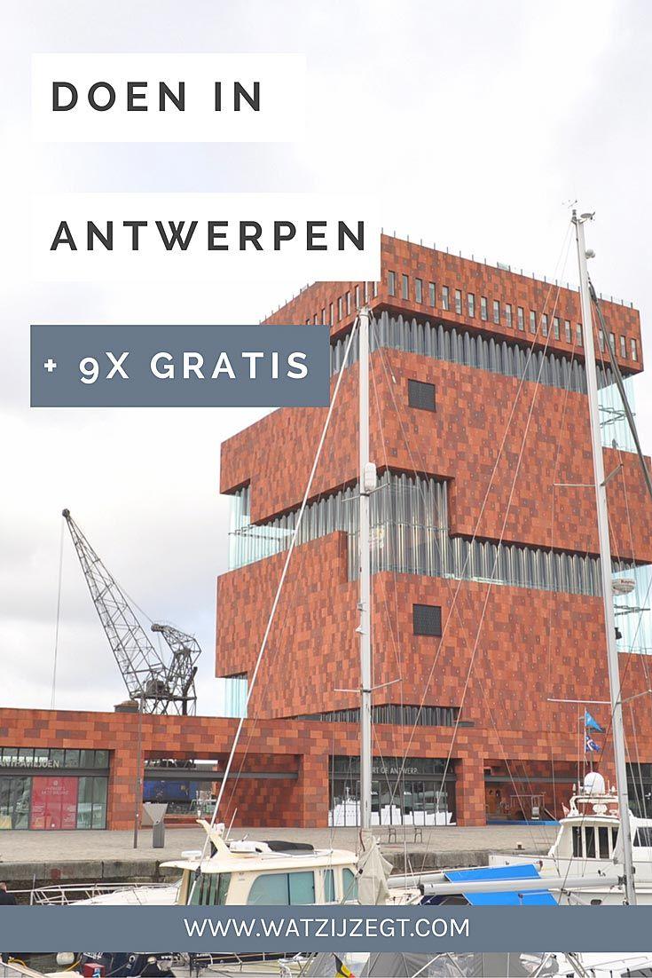 Dit moet je zeker doen in Antwerpen, gratis en voor (n)iets